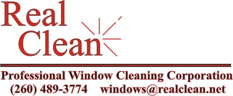Real Clean Professional Window Cleaning logo